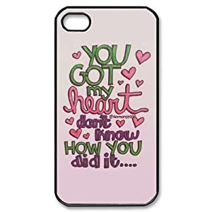 Customize Famous Singer Ariana Grande Back Case for iphone 4 4S JN4S-1951