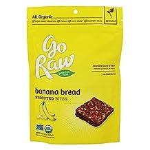 Go Raw - Organic Sprouted Bites Banana Bread - 3 oz.