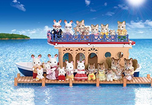 Calico Critters Seaside Cruiser Houseboat Import It All