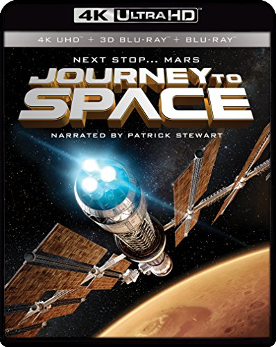 4K Blu-ray : Imax: Journey To Space (With Blu-Ray 3-D, Widescreen, 2 Pack, 2 Disc)