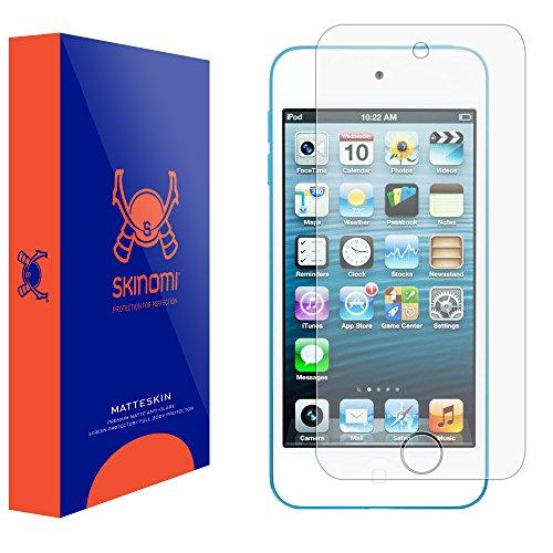 Skinomi Matte Screen Protector Compatible with Apple iPod Touch 5 (5G, 5th Gen) Anti-Glare Matte Skin TPU Anti-Bubble Film (Screen Lcd Ipod Touch 5g)