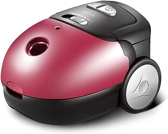 Aspirador pequeño hogar pequeño Mudo Potente Alta Potencia portátil Mini aspiradora (Color : Red): Amazon.es: Hogar
