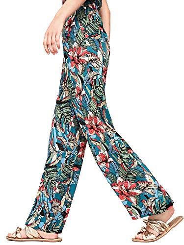 Jeans Tropical Cute Pepe Nero Pants Woman 0dqwaSx