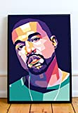 kanye merchandise - Kanye West Limited Poster Artwork - Professional Wall Art Merchandise (More Sizes Available) (11x14)
