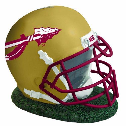 Helmet Piggy Bank - The Memory Company NCAA Florida State University Helmet Shaped Bank