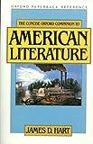 The Concise Oxford Companion to American Literature, , 0195047710