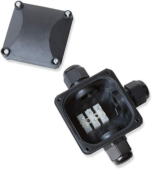 Caja de Conexión 3-fach para el Exterior Caja de Derivación IP67 Impermeable Lhg Verbindungsbox Caja de Empalme Kabel-Dose ✓ Caja de Conexiones ✓Distribuidor: Amazon.es: Iluminación
