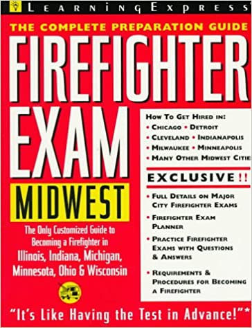 Firefighter Exam Midwest Learning Express Editors 9781576851036