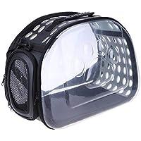 Transparent Cat Dog Carrier Bag Breathable Pet Travel Handbag Foldable Outdoor Shoulder Bags Puppy Travel Carrying Bags…