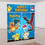 Pokemon Pikachu Scene Setters Wall Decorating Kit