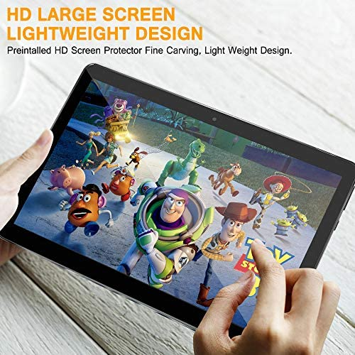 10 Inch Android Tablet PC, 5G Wi-Fi, Octa -Core Processor, Android 9.0, 4GB RAM + 64ROM, 1280×800 IPS HD Display, Bluetooth,GPS,5000 mah Battery,G3 (Silver) 51PBPZDeFqL