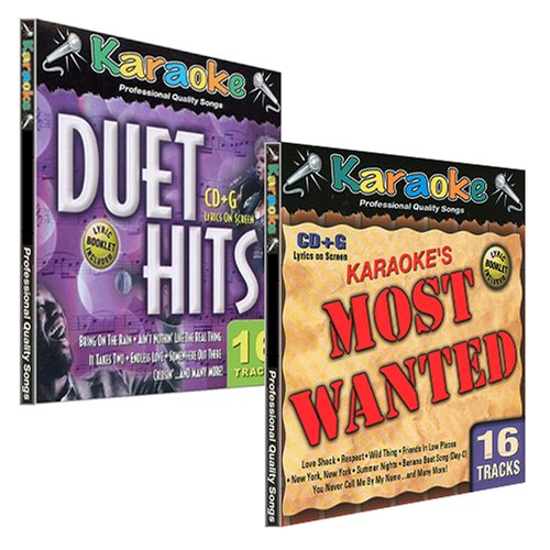 Karaoke Most Requested Collection - 2 Pack