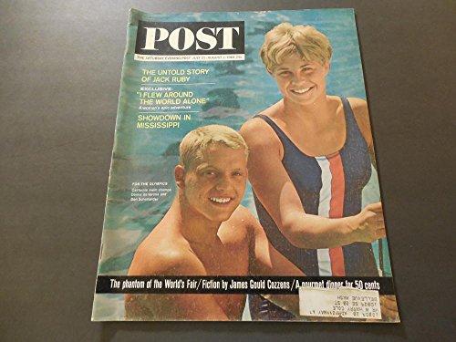Saturday Evening Post Jul 25 1964 Jack Ruby; Olympics; Mississippi