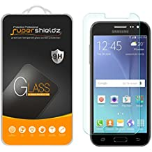 [2-Pack] Supershieldz for Samsung Galaxy J2 Tempered Glass Screen Protector, Anti-Scratch, Anti-Fingerprint, Bubble Free, Lifetime Replacement Warranty