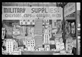 Reproduced Photo of Window Display in Military Supply Store in Columbus, Georgia 1941 Delano C Jack 66a