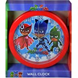 PJ Masks 10 Round Wall Clock in Open Window Box