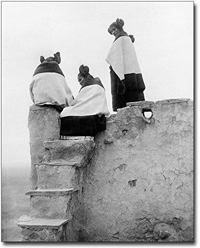 Edward S. Curtis Hopi American Indian Women 11x14 Silver Halide Photo Print