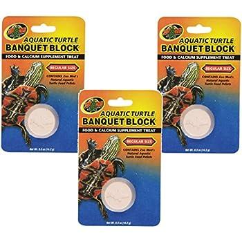 Amazon Com Zoo Med Aquatic Turtle Banquet Block Pet