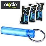 Ni Glo Kit Markers - Atomic Blue (Set of 3)