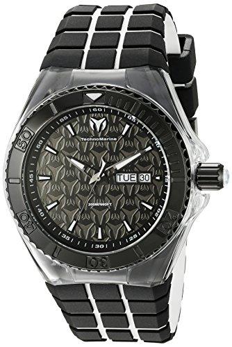 technomarine-mens-tm-115182-cruise-locker-analog-display-swiss-quartz-two-tone-watch