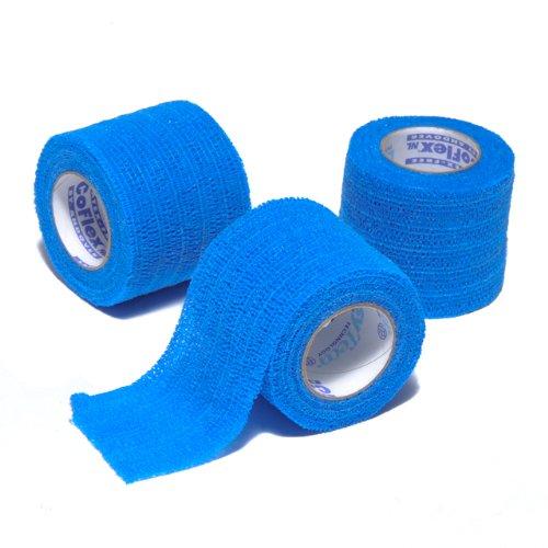 Coflex NL Elastic Bandage Blue 2'' 3/pkg Latex (Latex Free Elastic Wrap)