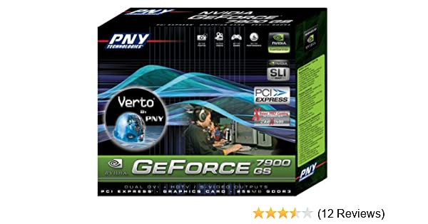 Amazon.com: PNY Nvidia GeForce 7900 GS 256MB GDDR3 PCI Express Graphics Card: Electronics
