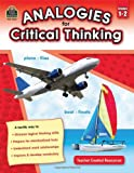 Analogies for Critical Thinking Grd 1-2, Ruth Foster, 1420631659
