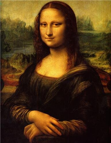 - MONA LISA GLOSSY POSTER PICTURE PHOTO leonardo da vinci smile art painting