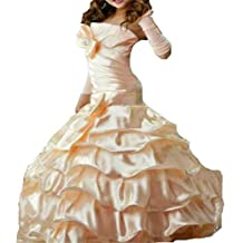 Dydsz Flower Girl Dresses For Wedding Communion Mermaid Kids Prom Floor Length D214