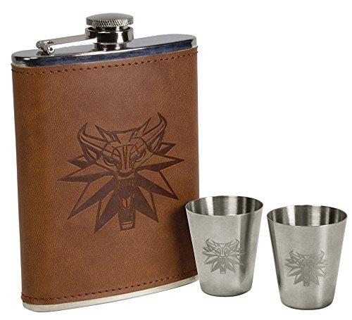 Dark Horse Deluxe The Witcher Deluxe Flask Set (Witcher 3 Best Horse Gear)