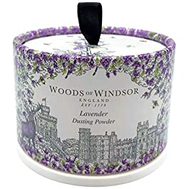 Woods of Windsor Body Dusting Powder with Puff for Women