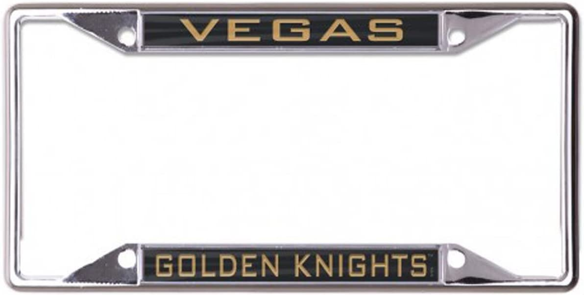 WinCraft NHL Vegas Golden Knights 6 x 12 inch Metal License Plate Frame