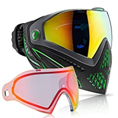 The next evolution in the DYE goggle line is also the next evolution in paintball eye and face protection technology. New groundbreaking features like the GSR pro-strap and e.VOKE communication system make the i5 the most advanced goggle syst...