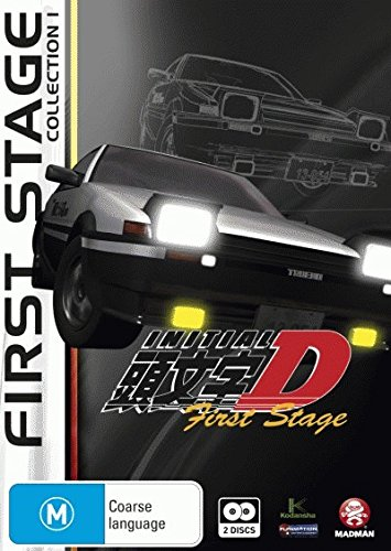 Initial D First Stage Collection 1 DVD