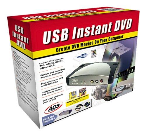 ADS Tech USB Instant DVD Driver