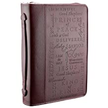 Names of Jesus Two-tone Bible / Book Cover (Large)