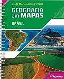 capa de Geografia em Mapas. Brasil