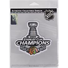 2013 STANLEY CUP CHAMPIONS CHICAGO BLACKHAWKS STANLEY CUP CHAMPIONS JERSEY PATCH