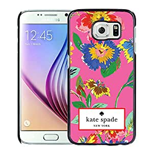 Kate Spade Cover Case For Samsung Galaxy S6 Black Phone Case 29