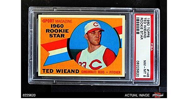 1960 Topps #164 Cincinnati Reds Team Baseball Card Verzamelkaarten, ruilkaarten