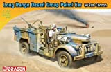 Dragon Models Long Range Desert Group Patrol Car with 2cm Cannon Armor Pro Series Tank Model Building Kit, 1:72 Scale