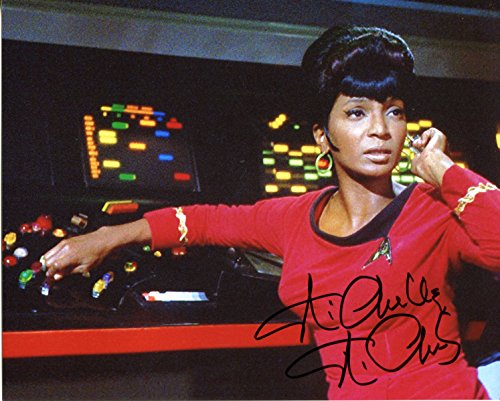 Nichelle Nichols Signed/Autographed Star Trek 8x10 Glossy Photo as Lt. Nyota Uhura. Includes Fanexpo Fanexpo Certificate of Authenticity and Proof. Entertainment Autograph Original.