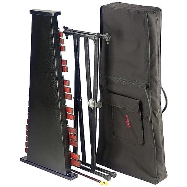 Stagg XYLO-SET 37 - Xilófono 3 octavas con soporte, caja y mazos: Amazon.es: Instrumentos musicales
