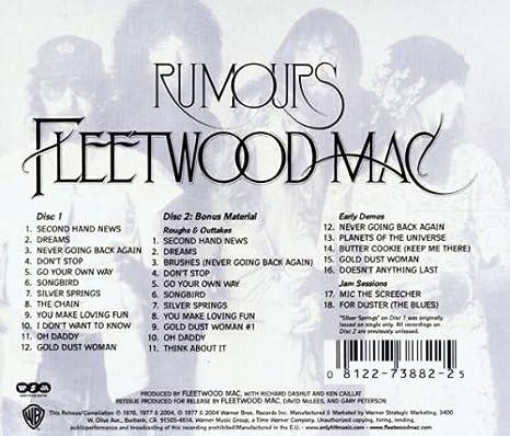 Rumours : Fleetwood Mac: Amazon.es: Música