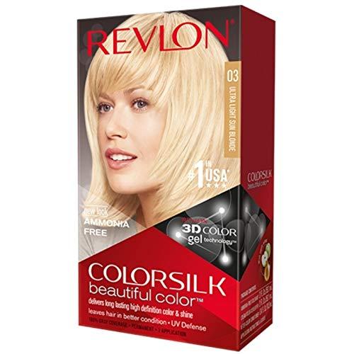 Revlon Colorsilk Beautiful Color, Ultra Light Sun Blonde 03 1 application