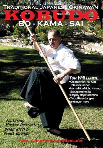 Traditional Japanese Okinawan Kobudo BO-KAMA-SAI