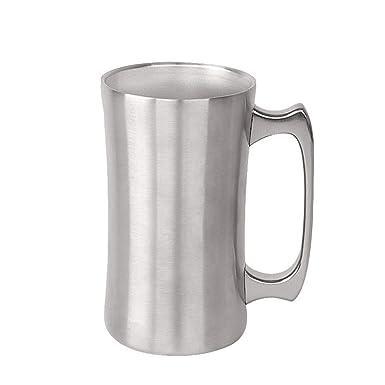 Amazon.com: Vansee❤ Taza de cerveza de acero inoxidable 304 ...