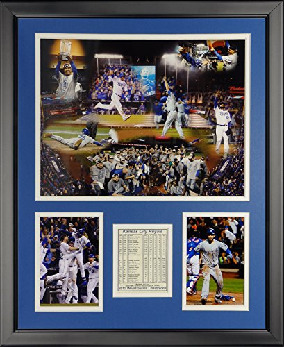 MLB Kansas City Royals 2015 World Series Champions Framed Photo Collage, 16