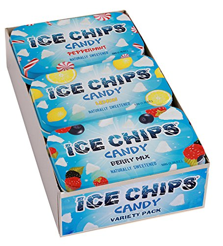 ICE CHIPS Variety Packs (6 Tins) (Variety Pack)