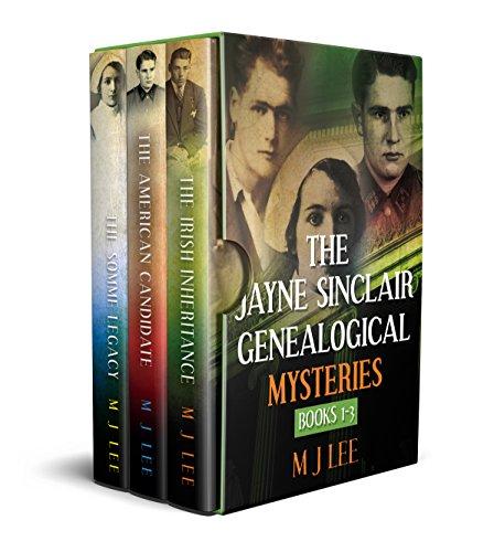 The Jayne Sinclair Genealogical Mysteries.: Books 1 - 3 (Jayne Sinclair Genealogy Mystery Box Set)